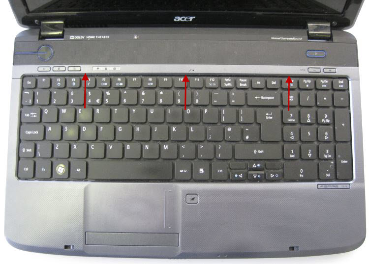 Remove top panel above keyboard