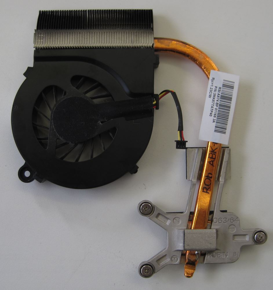 HP Compaq Presario CQ56 Heat sink and fan - top