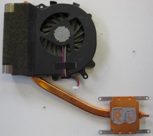 Sony Vaio VPCEB2M0E Heatsink with hardened thermal paste